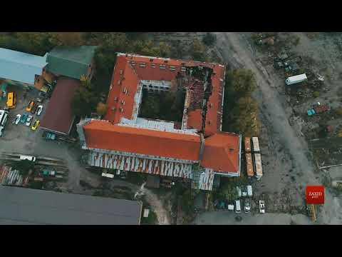Zaxid.Net: Закинутий монастир на території ЛАЗу зняли з висоти ...