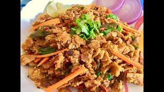 EGG KOTHU CHAPATHI ( Easy & Tasty recipe with leftover chapathi )
