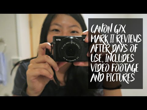 Canon g7x mark ii review for non-techy people// spend some days with me using it