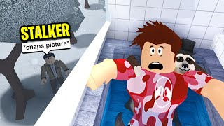 My Neighbor Keep STALKING Me.. I Called The Police! (Roblox)