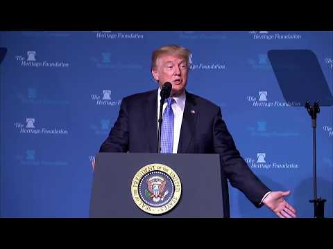 2017 President's Club Meeting ft The Honorable Donald J. Trump | The Heritage Foundation