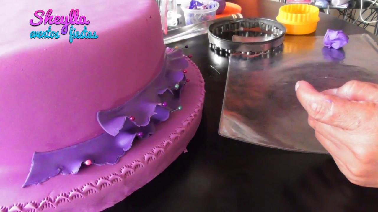 Como decorar una torta de los descendientes para - Como decorar una fiesta de cumpleanos ...
