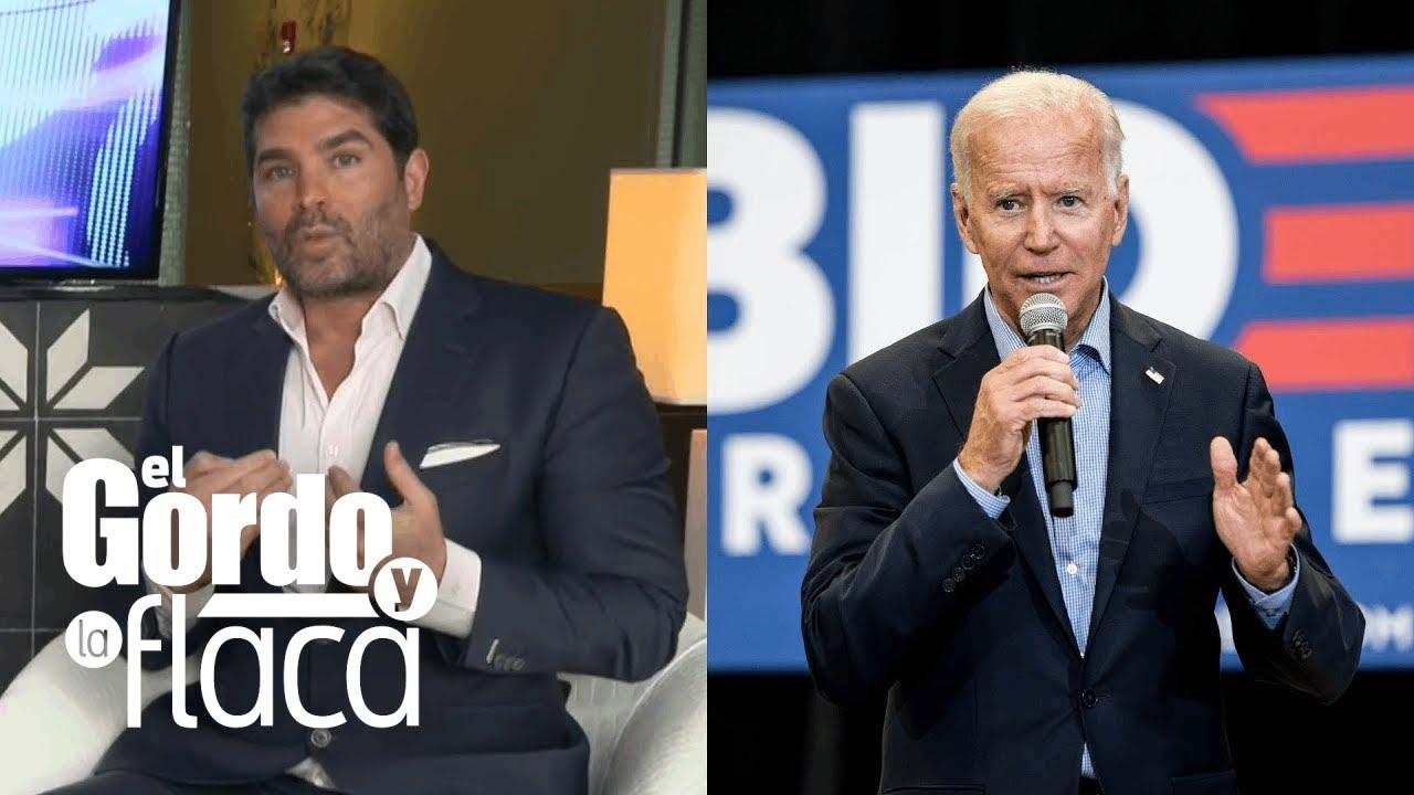 """Mis manos estarían llenas de sangre"": Eduardo Verástegui explica por qué no apoya a Biden | GYF"