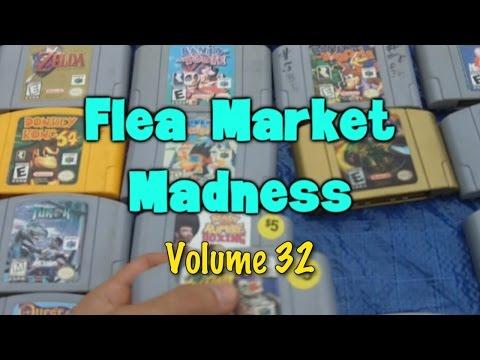 Flea Market Madness Vol. 32 - Pat the NES Punk
