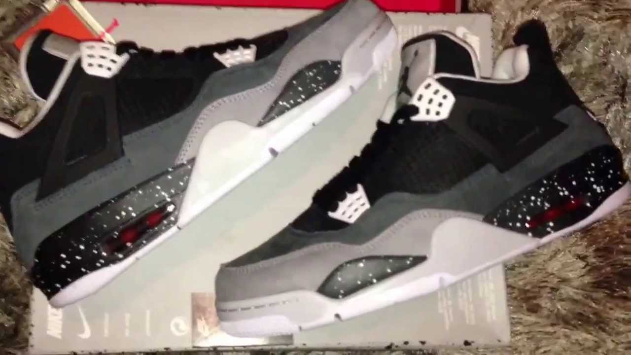 timeless design cd389 186ca Air Jordan IV 4 Retro Oreo Stealth Fear Pack Review 100% Authentic Nike 2013