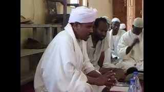 الشيخ صلاح الدين البدوى الخنجر درس فى العقيد على حاشية العلامة الصاوي على شرح الخريدة البهية
