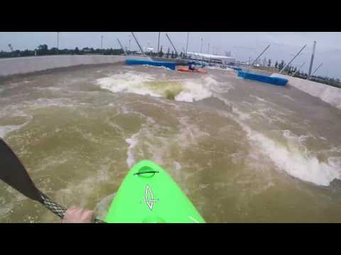 Kayaking Riversport Rapids - Oklahoma City, OK