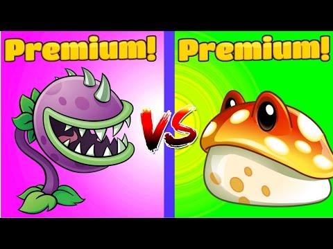 Plants vs Zombies 2 CHOMPER vs TOADSTOOL