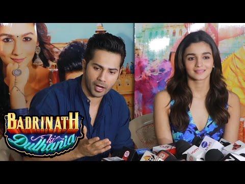 Varun Dhawan & Alia Bhatt's Full Interview - Badrinath Ki Dulhania