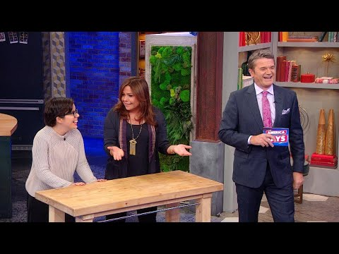 John Michael Higgins Hosts America Says Right In Our Studio With Rach As a Contestant