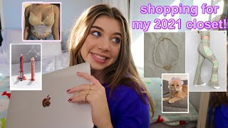 SHOP W ME FOR 2021 *new year = new clothes*