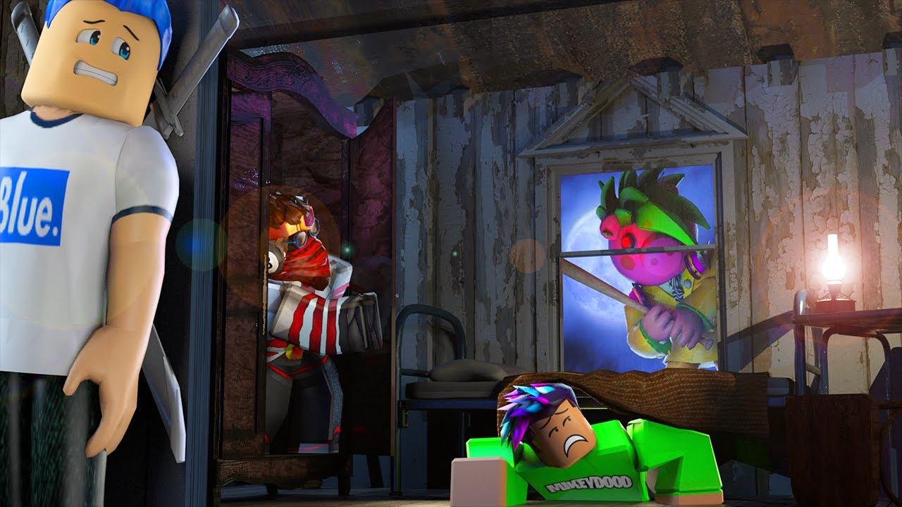 Escape ROBLOX PIGGY and WIN $20,000 ROBUX! (Jackeryz VS MIKEYDOOD)