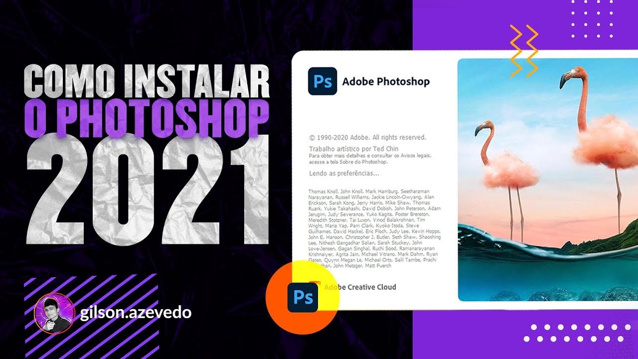 Como Instalar o PHOTOSHOP 2021 Corretamente? [@Adobe Creative Cloud]