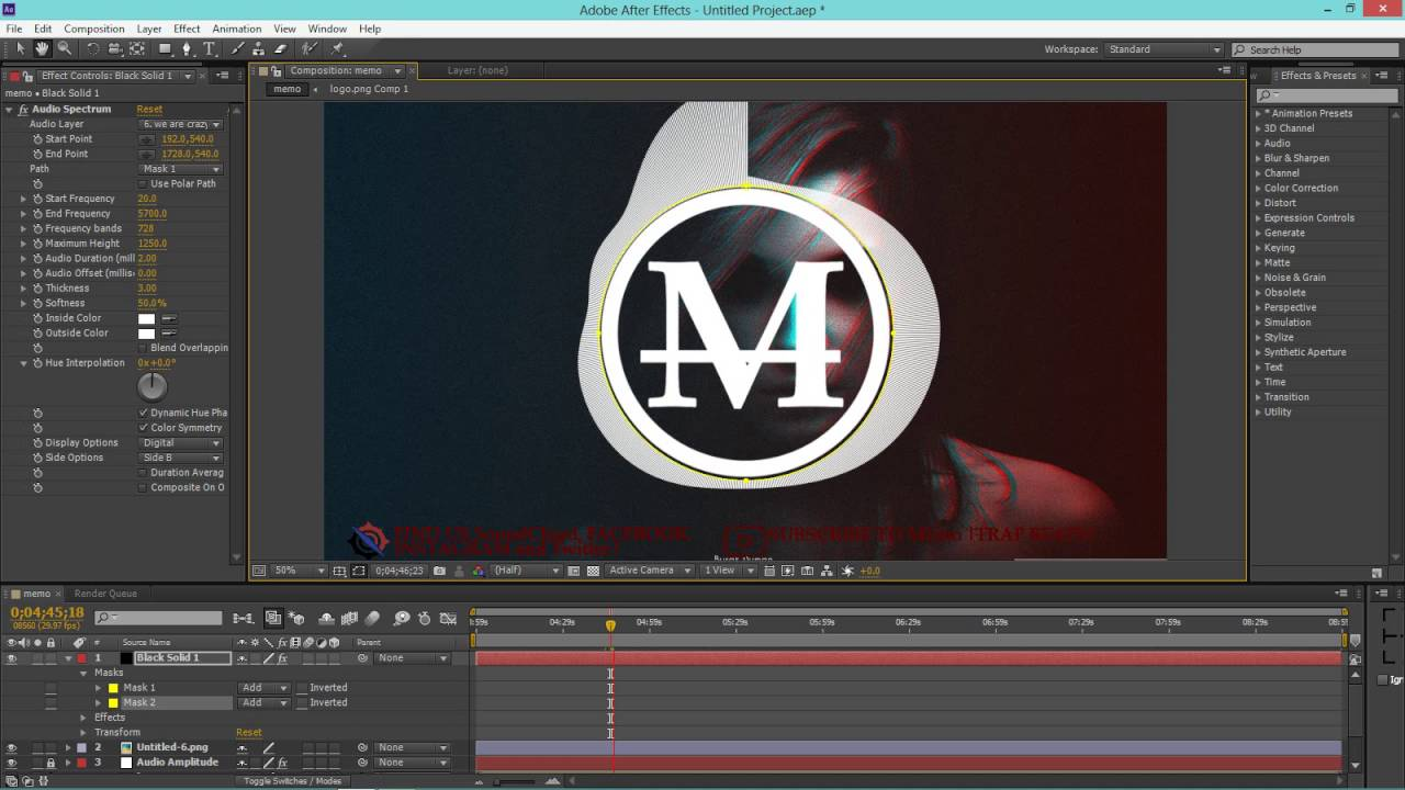 How To Make A Animation Music Video On Adobe After Effect Youtube