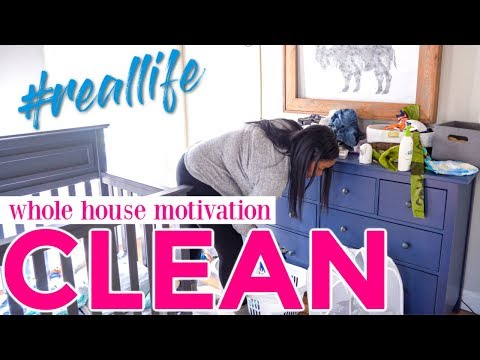 🏡 All Day Clean With Me Fall 2018 - Whole House Ultimate Cleaning Motivation
