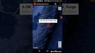 Strongest Earthquake of the Day: November 10th, 2018 Pangai, Tonga