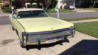 1973 Chrysler Imperial for sale, only US 9,900.00 NEW ENGINE