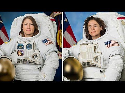 أمريكيتان تدخلان التاريخ بعد نجاح أول مهمة نسائية بالكامل خارج محطة الفضاء الدولية  - 10:54-2019 / 10 / 21