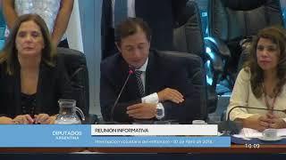 Reunión informativa sobre la interrupción voluntaria del embarazo 01/11