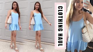 Summer Clothing Try On Haul! // Affordable Dresses and more!