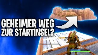 DER GEHEIME WEG ZUR STARTINSEL? 🌴 | Fortnite: Battle Royale