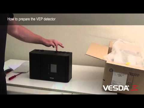 VESDA-E VEP: How to prepare detector