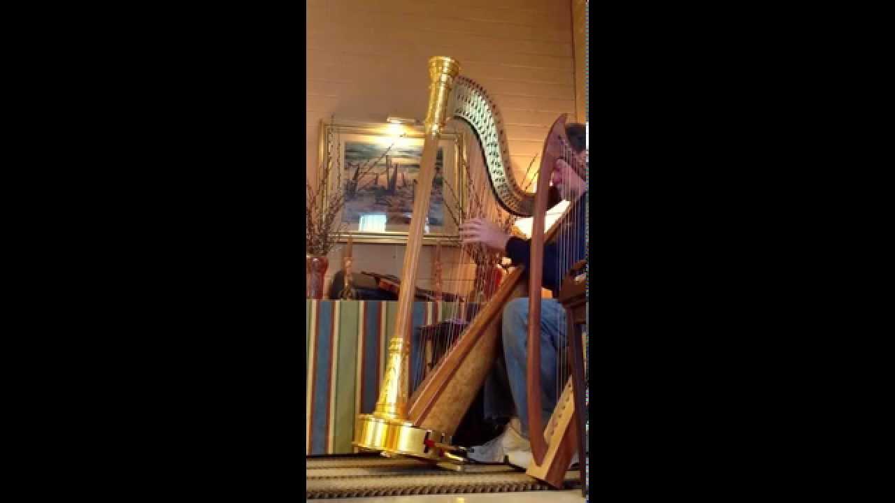 1921 Lyon & Healy Style 12 Pedal Harp