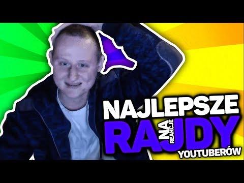🍒 3 NAJLEPSZE REAKCJE Na RAJDY YouTube'rów! | DeeJayPallaside, Gural | ZairoxTV