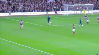 Fan footage of Andy Carroll's winning goal for West Ham v Chelsea