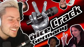 Reaktion auf Voice Crack of Germany #1