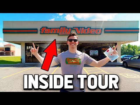 Inside The Best Video Rental Store in The World! FLICK TRIP