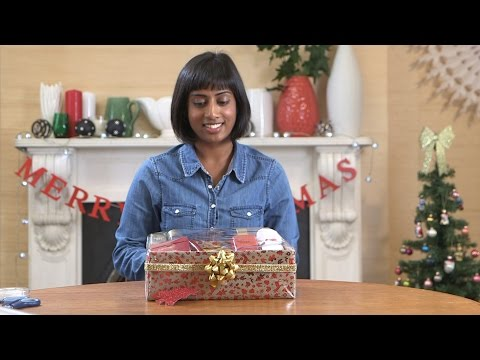How to make your own luxury Christmas beauty hamper gift, with Boots