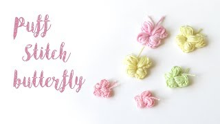 In this tutorial I show you how to crochet my quick puff stitch butterfly! Make sure to tag your creations on Instagram @happyberrycrochet ...
