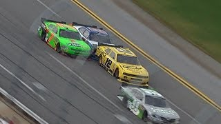 Tempers flare between Danica Patrick and Sam Hornish