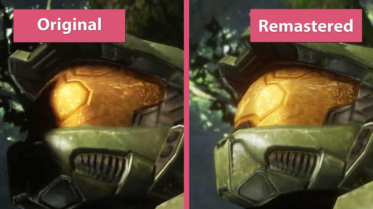 Halo 3 The Master Chief Collection Vs Original Comparison Full Hd