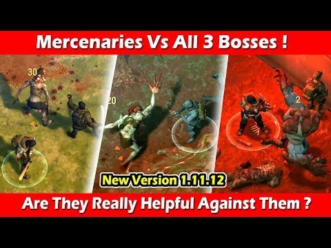 Mercenaries Vs The Witch, Blind One & Ravager (1.11.12) ! Last Day On Earth Survival