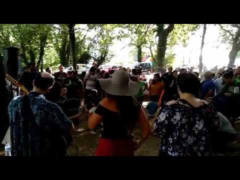 As gaitas soan no festival Terra Brava do Incio
