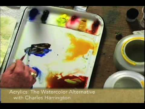 Preview | Acrylics: The Watercolor Alternative With Charles Harrington