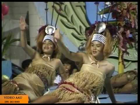 Taupou Manaia,  Amerika Samoa -  Siva