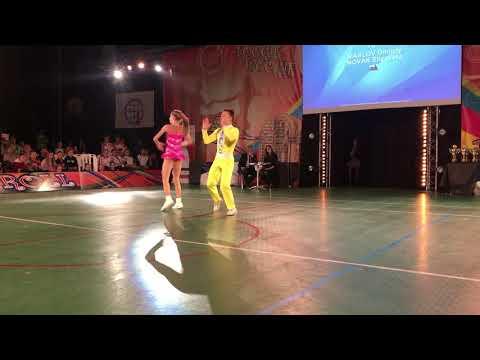 1st Place MASLOV Dmitriy   NOVAK Elizaveta World Championship Rock N Roll   Main Class Contact Style