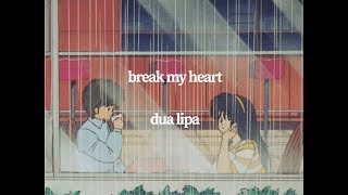 Download Lagu Dua Lipa - Break My Heart visual MP3