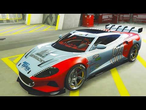 Spyker C8 Aileron Hypercar Vysser NEO Expensive Car GTA ONLINE Gameplay Review Casino DLC