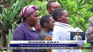 7 die as floods sweep away vehicle in Nyandarua