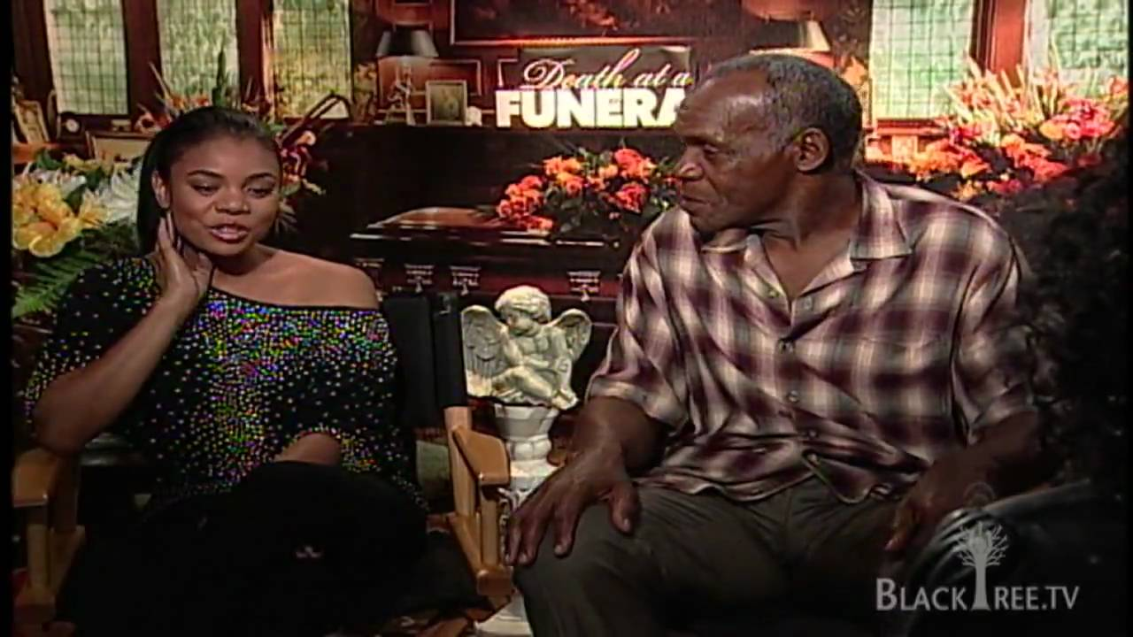 Regina Hall and Danny Glover discuss family dynamics and comedy in Death at a Funeral