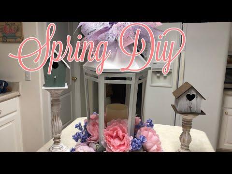 Spring Lantern Diy | Wedding Centerpiece Diy 2019