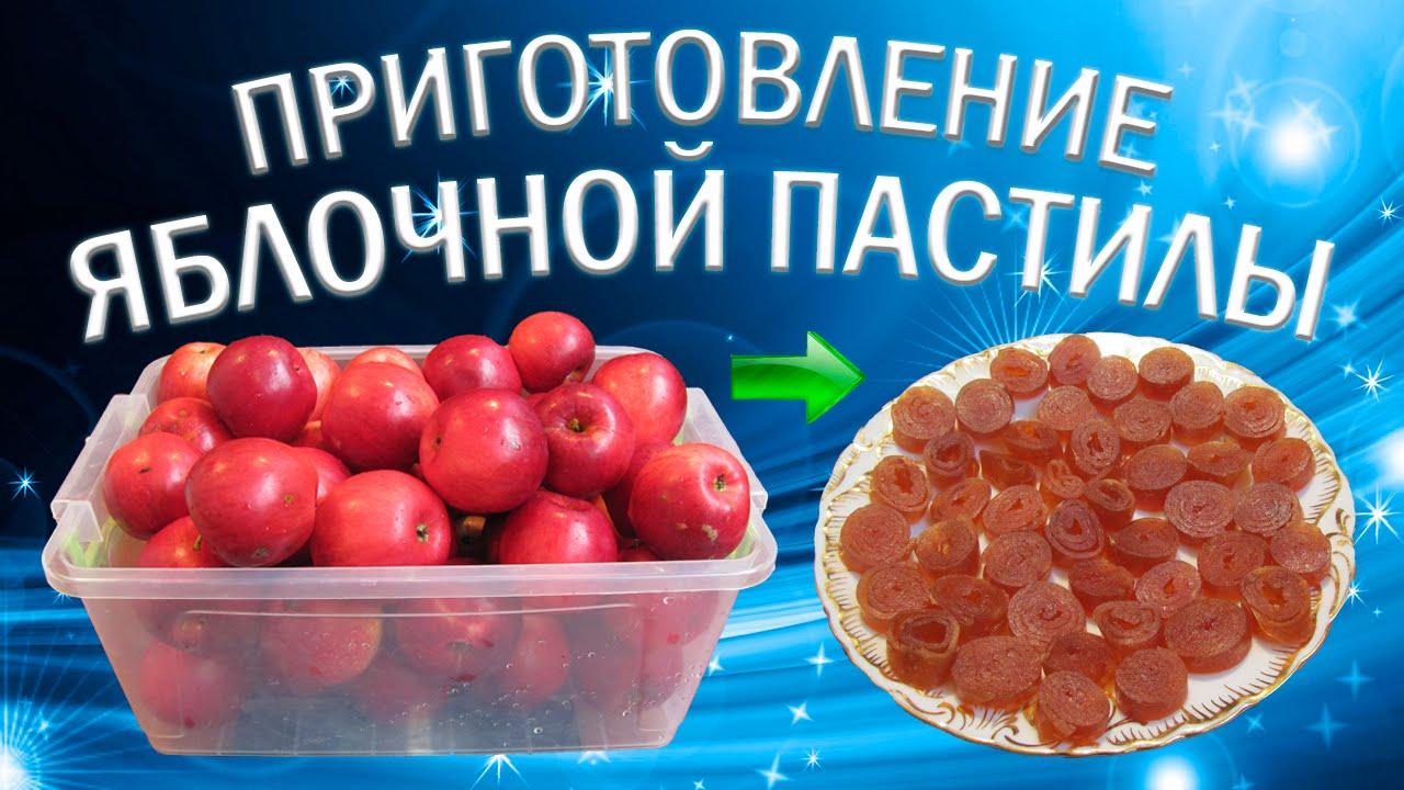 пастила из фруктов в домашних условиях рецепт с фото