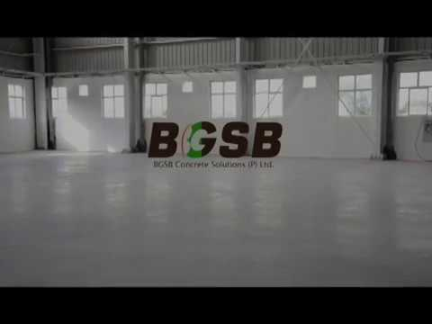 Concrete Floor Densification Video by BGSB
