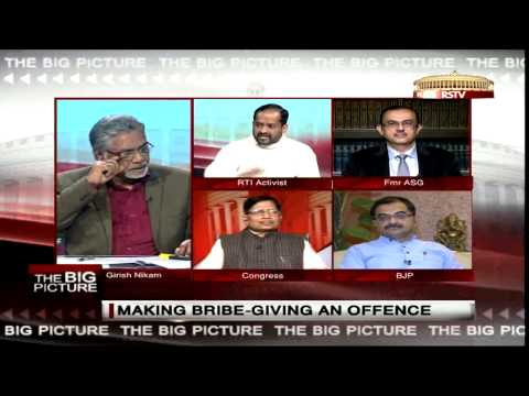 The Big Picture - Making bribe-giving an offence