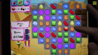 Candy Crush SAGA Level 117 Stack