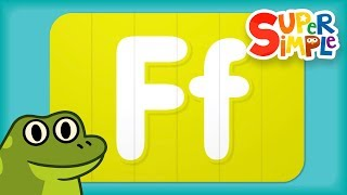 Alphabet Surprise | Turn & Learn ABCs | Learn Letter F